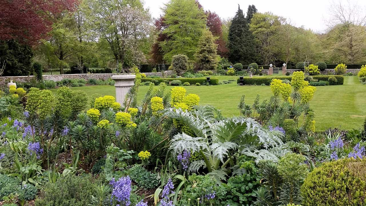 A view of the gardens at Croxton Park